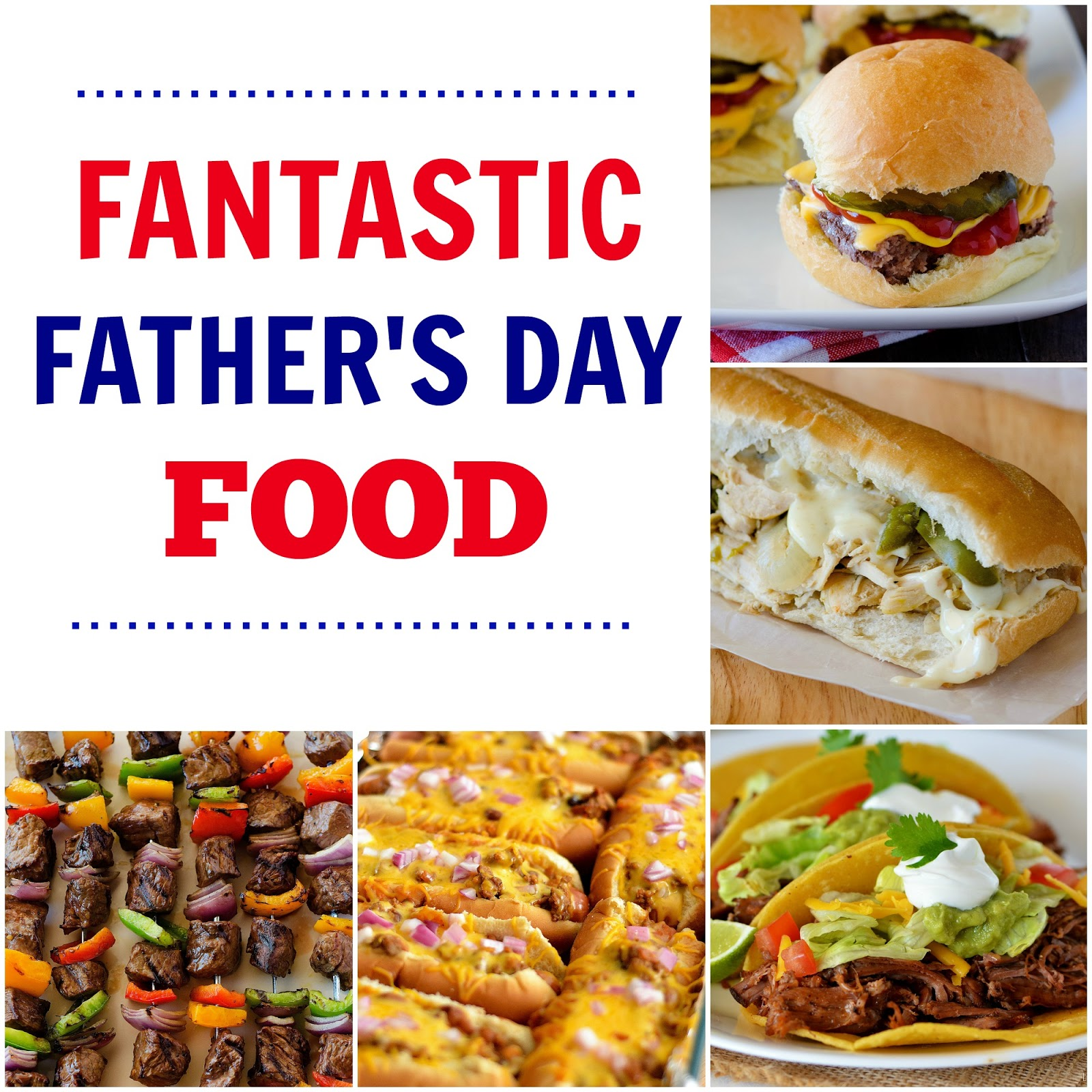 Man food recipe round up fathers day edition the country cook below brandie and i have compiled all of the most fantastic food to make on fathers day theyre sure to be happy campers on their special day with any of sciox Image collections