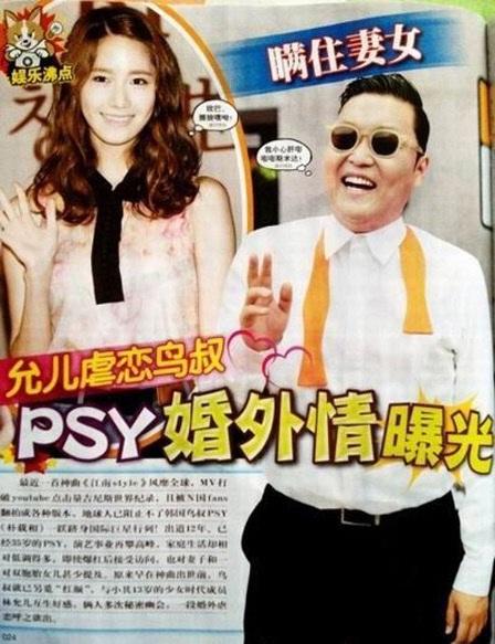 SM Dan YG Entertainment Tanggapi Rumor Hubungan Psy Dan Yoona