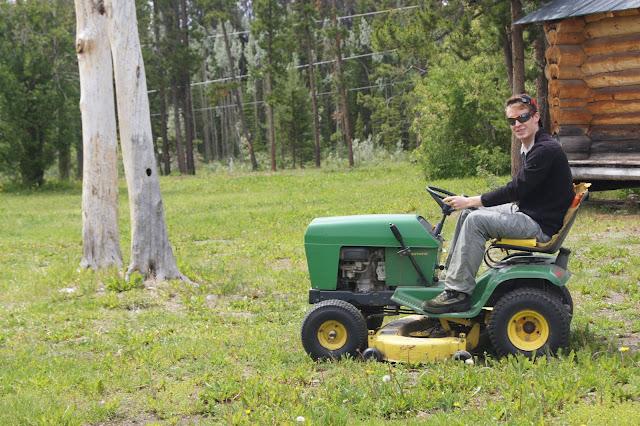 John Deere lawn mover