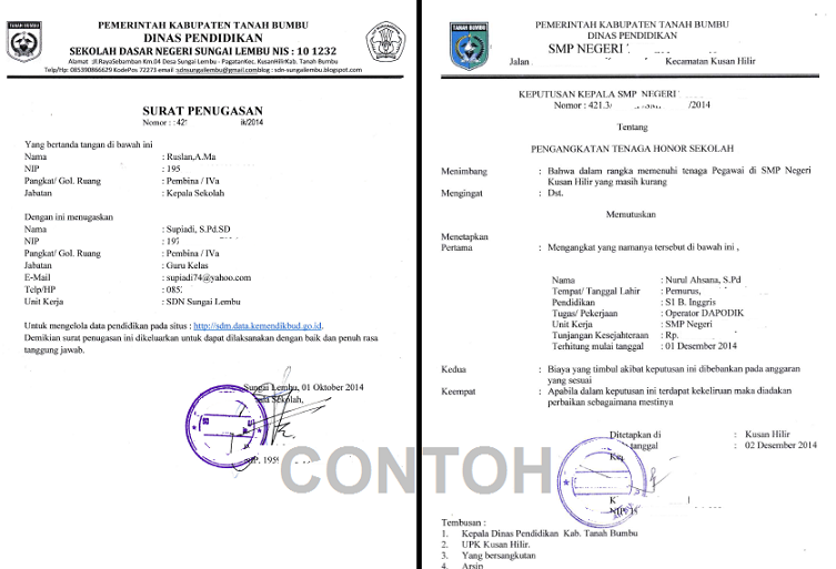 REGISTRASI OPERATOR DI SDM-PDSP (Sekolah yang belum registrasi di SDM