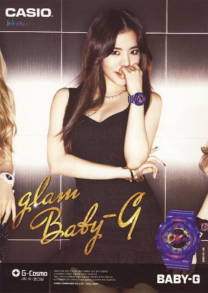 Sunny SNSD Baby-G Glam 2014
