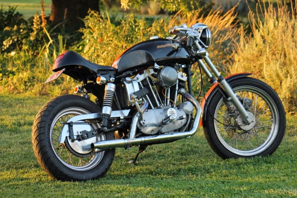 Customer Bike  Peter Cartmel Vistoria  Australia 1971 Harley