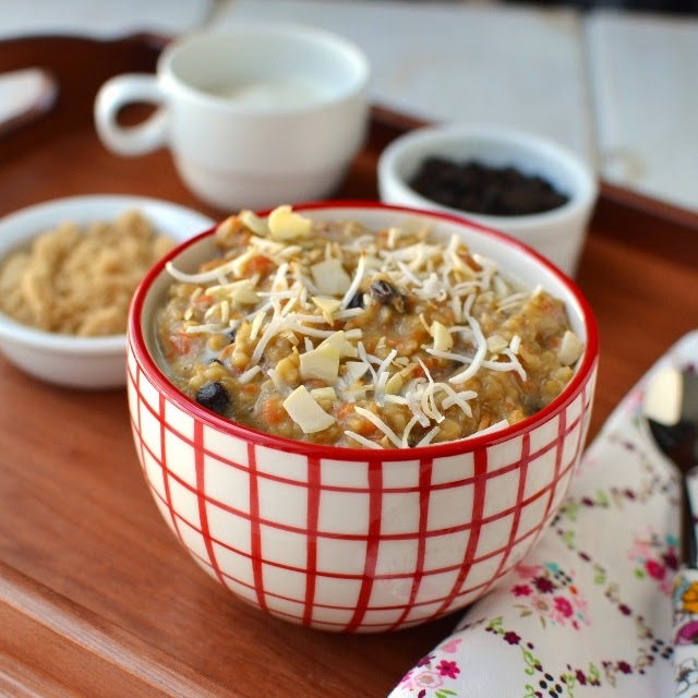 Morning Glory Oatmeal