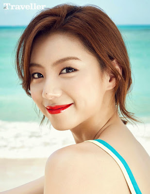 Park Soo Jin - The Traveller Magazine May Issue 2015