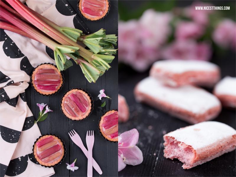Geschirrtuch Ferm Living, Rhabarbertartelettes, Biscuits Roses de Reims