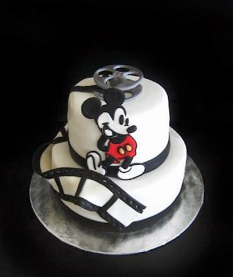 Tarta película Mickey Mouse
