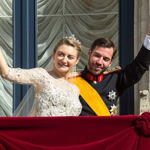 Luxembourg Prince Guillaume and Stephanie de Lannoy weds