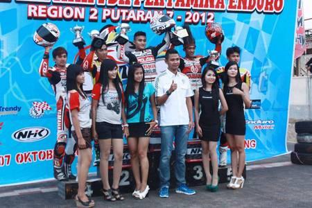 Empat Kelas Motoprix Region 2 Sukses Dikuasai Yamaha