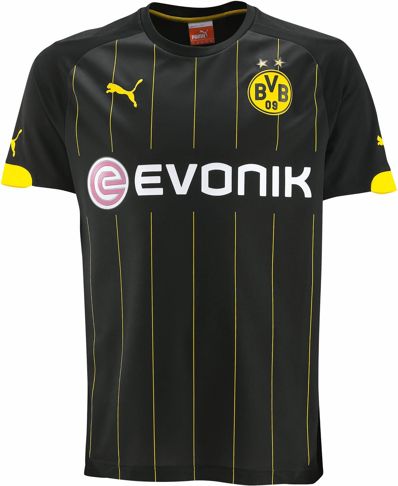Borussia dortmund 14 15 ausw rtstrikot