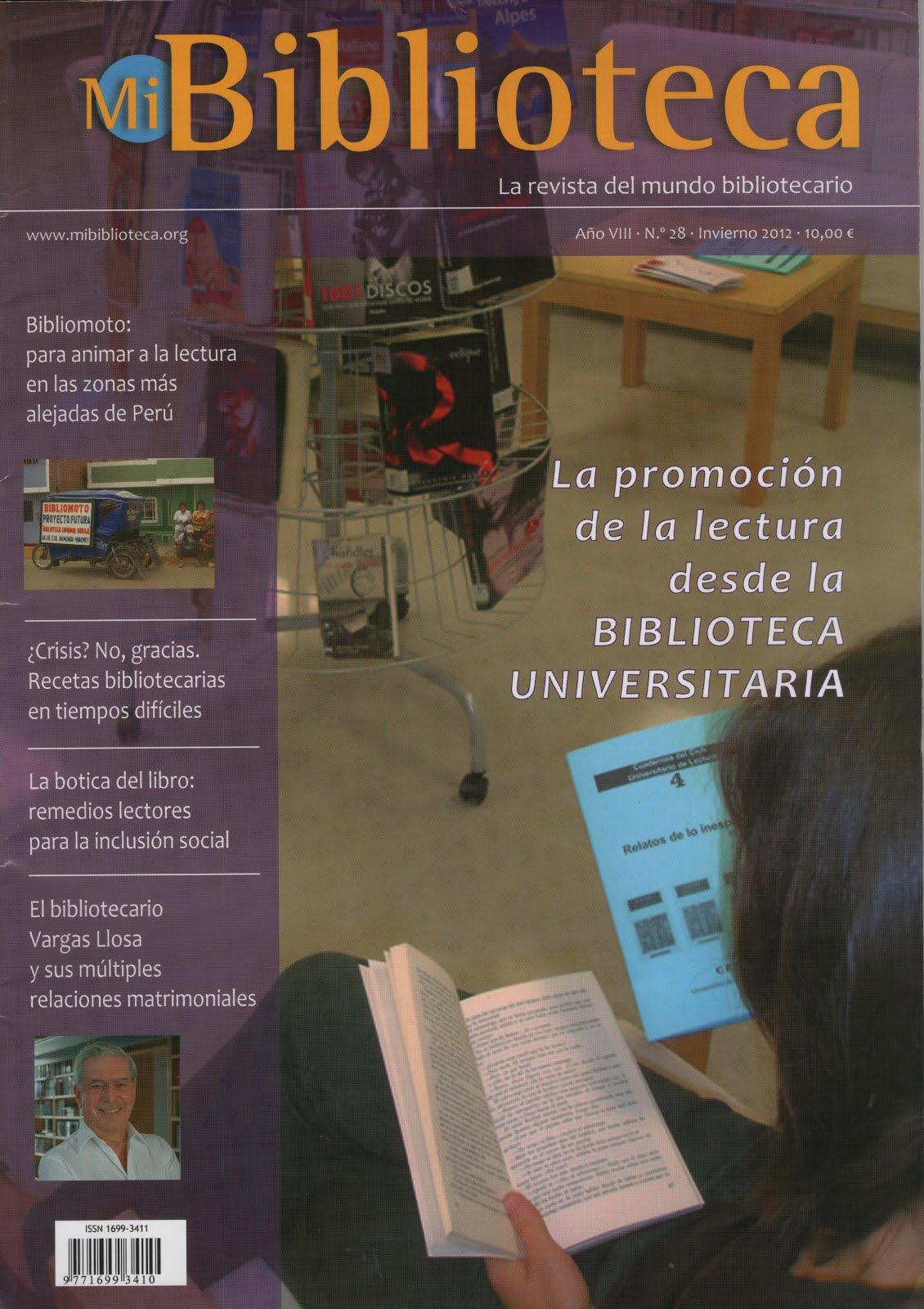REVISTA MI BIBLIOTECA - MALAGA - ESPAÑA