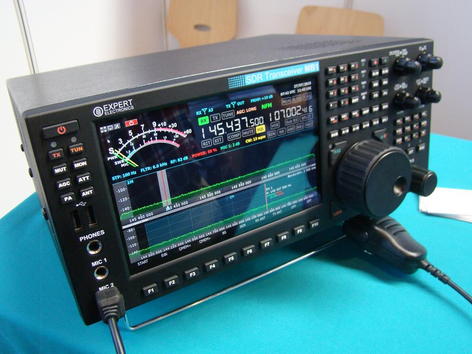 Expert Sun MB1 SDR Transceiver 160m – 2m [ Video ] | QRZ ...
