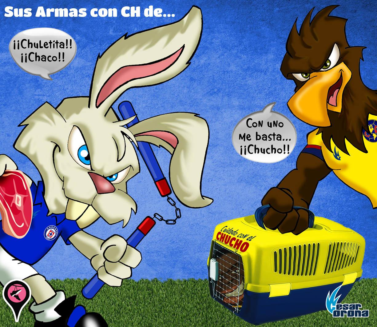 Cruz Azul vs América con CH de.........