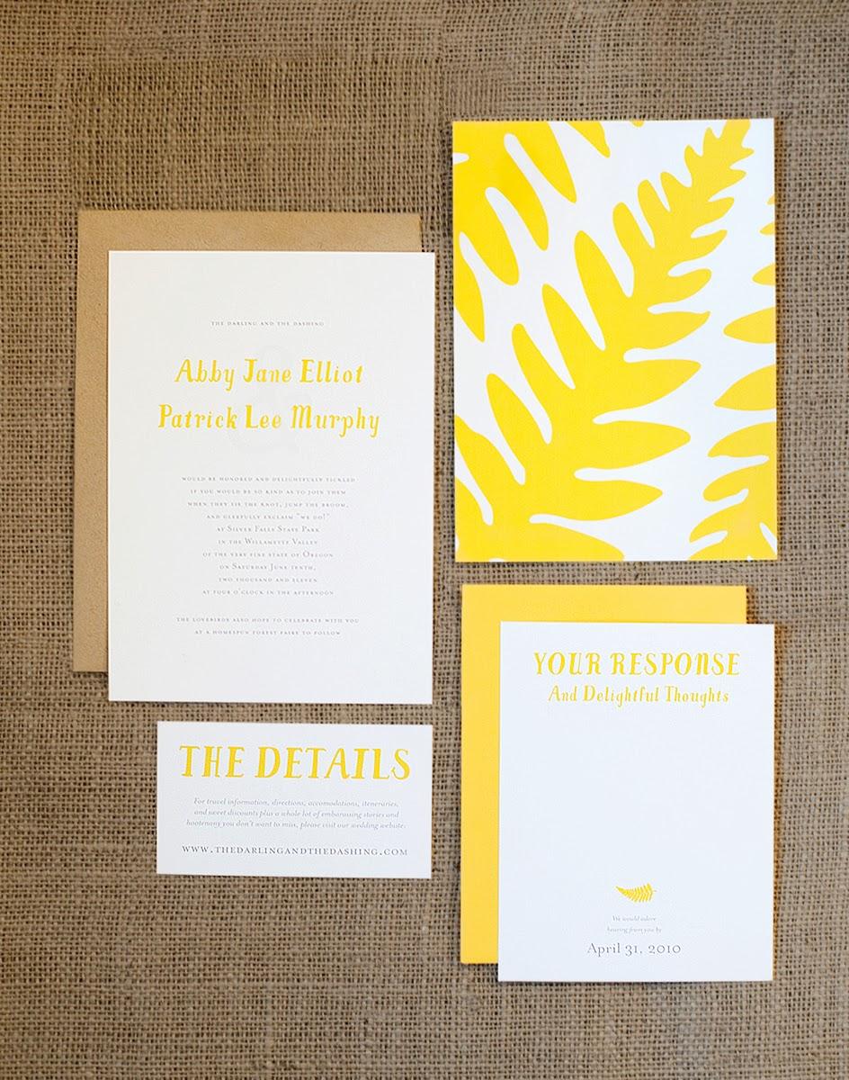 Design Fixation Wedding Invitation Inspiration