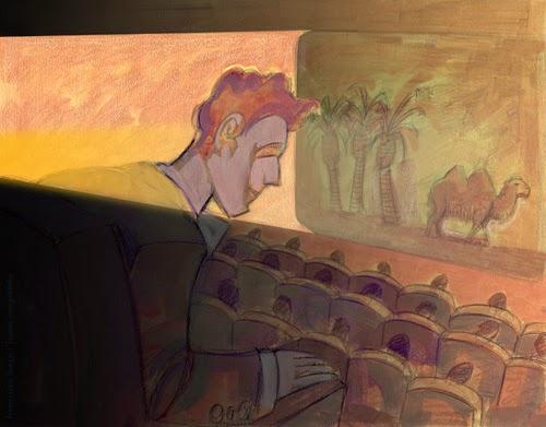 cinema movies francisco lanca illustration