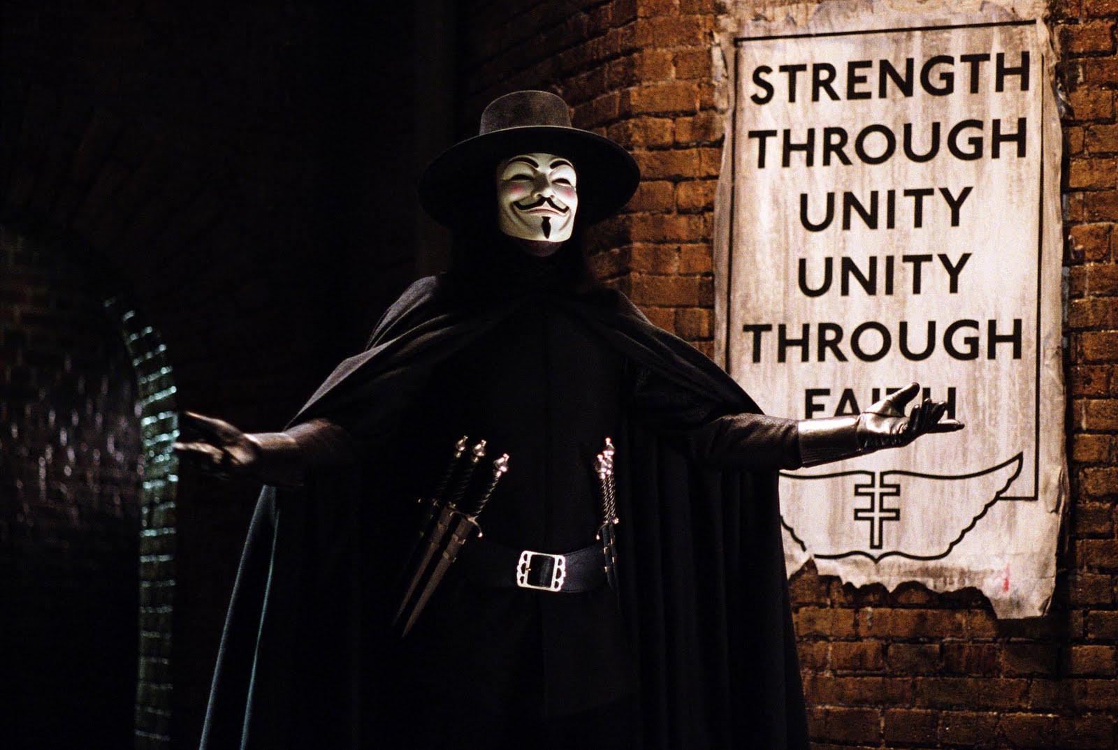 Miranda Leblanc V For Vendetta Wallpaper