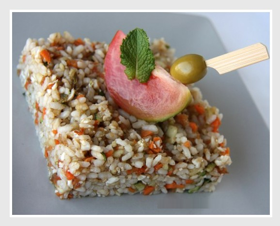 Ensalada de arroz ensalada de arroz con at n - Ensalada de arroz y atun ...