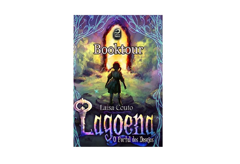 Booktour Lagoena O Portal dos Desejos - Laísa Couto