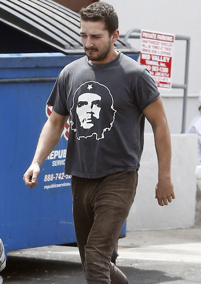 "Shia LaBeouf ama al ""Che Guevara"""