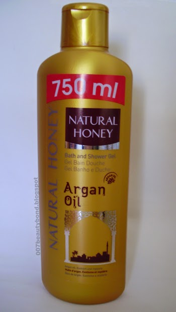 Natural Honey Argan Oil Bath and Shower Gel