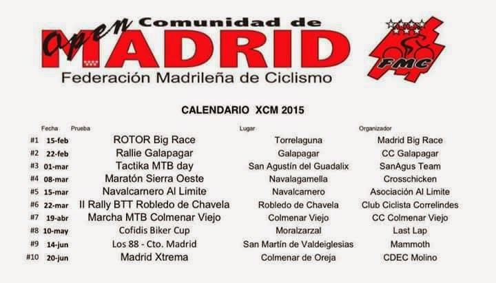 OPEN MADRID XCM 2015