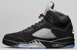 Air Jordan V - Pushing through the noise, a fighter rises.