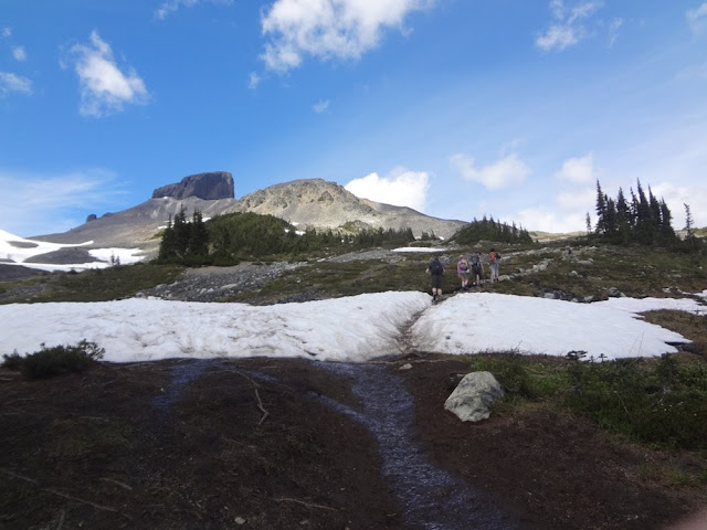 Approaching Black Tusk