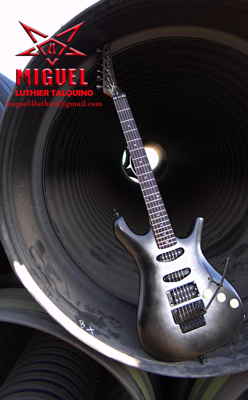 Luthier miguel4 talca creacion de guitarra electrica de for Luthier guitarra electrica