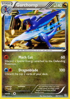 Garchomp Dragons Exalted Pokemon Card