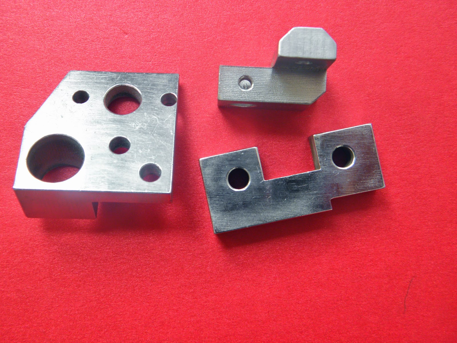 China metal parts machining