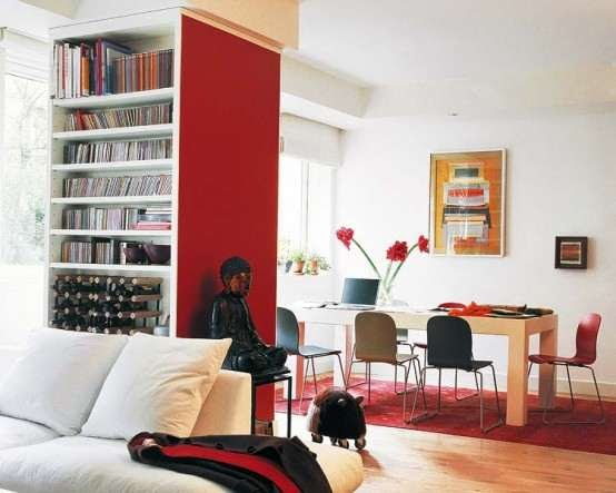 Interiores en color rojo ideas para decorar dise ar y - Disenar tu casa ...