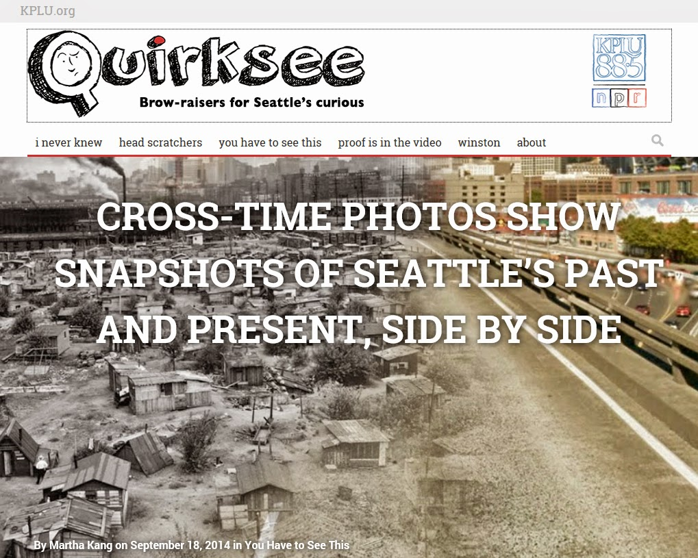 http://www.quirksee.org/2014/09/18/cross-time-photos-show-snapshots-of-seattles-past-and-present-side-by-side/