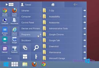 Cara Menjalankan Modern Apps UI dalam Windows 8 Desktop Dengan RetroUI Pro