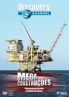 Filme Poster Mega Construções - Plataforma de Petróleo TVRip XviD Dublado
