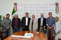 Se reúne Américo Zúñiga con Secretaria de Medio Ambiente