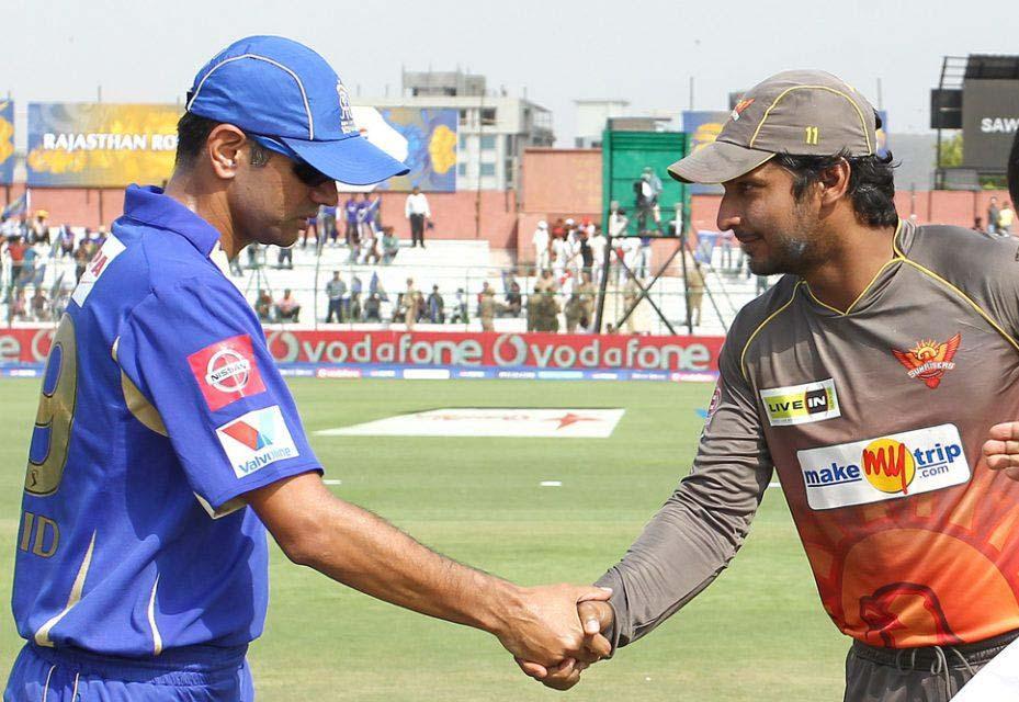Rahul-Dravid-Kumar-Sangakkara-RR-vs-SRH-IPL-2013