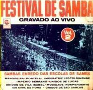 foto da capa do cd sambas de enredo 1969 grupo especial carnaval do Rio de Janeiro