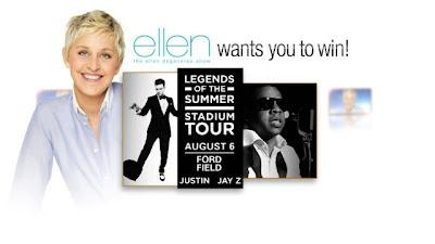 Ellen DeGeneres Justin Timberlake