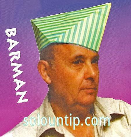 Hagamos un gorro con papiroflexia ~ Solountip.com