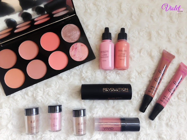 makeup revolution haul review