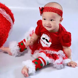 Gambar Baju Natal Untuk Anak Baby