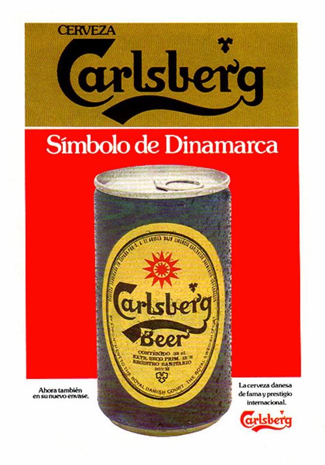 Cerveza CarlsBerg Publicidad de los años 80