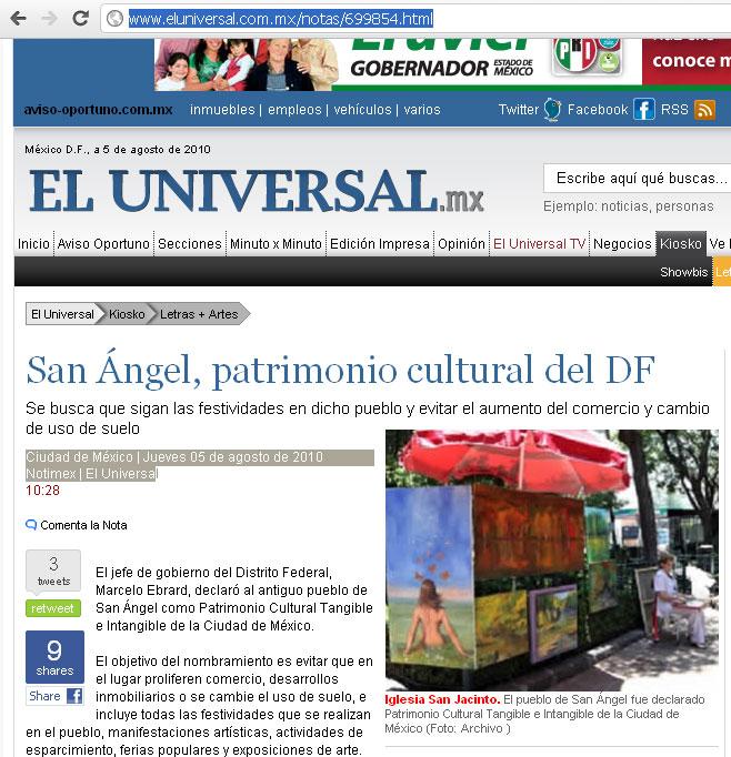 el universal de mexico noticias