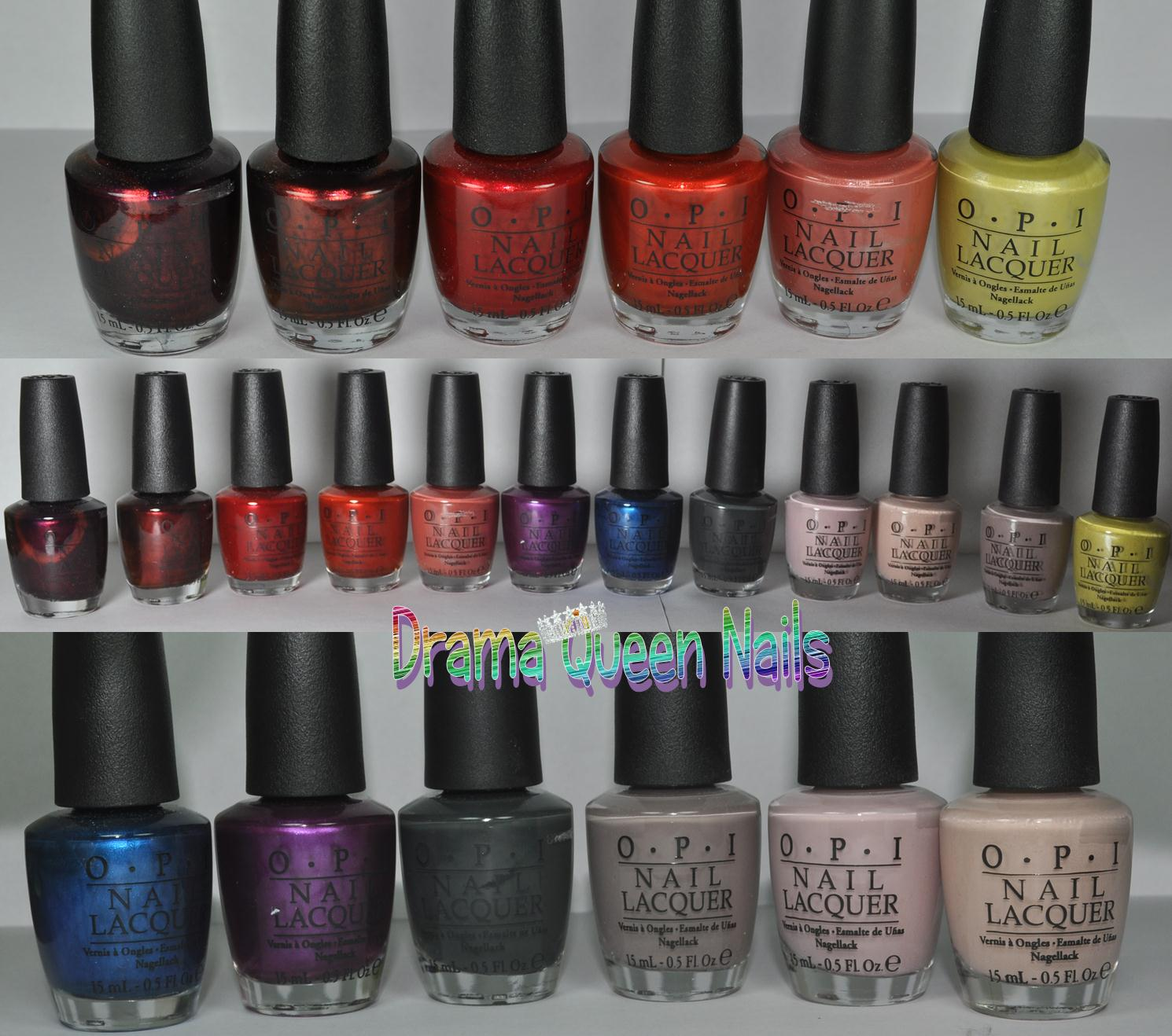 Drama Queen Nails: OPI Germany Collection