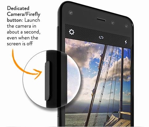 Amazon Fire Phone camera buton kamera