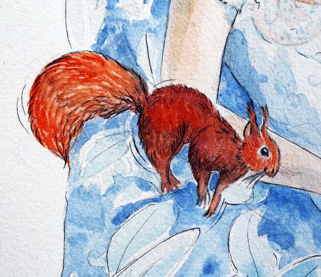 ... l'écureuil,