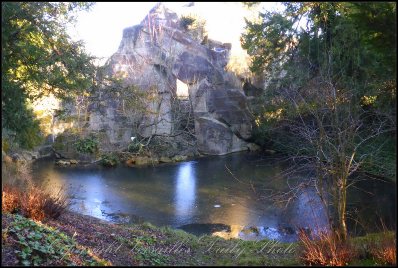 Le rocher Petit Trianon Versailles