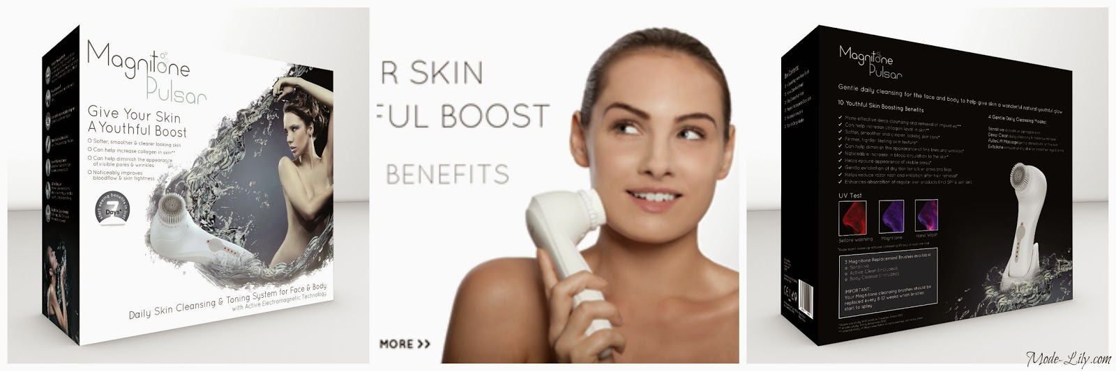 Review: Magnitone Pulsar Facial & Body Daily Cleansing Brush