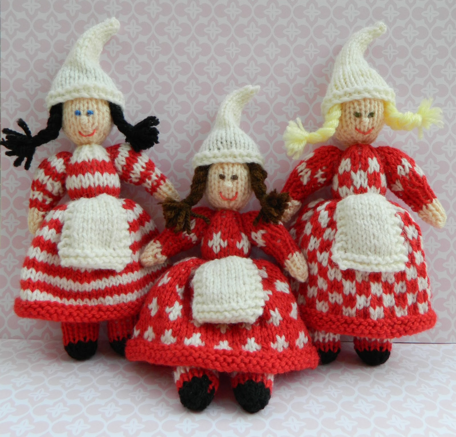 Edith Grace Designs - Original Doll & Toy Knitting Patterns & Cross S...