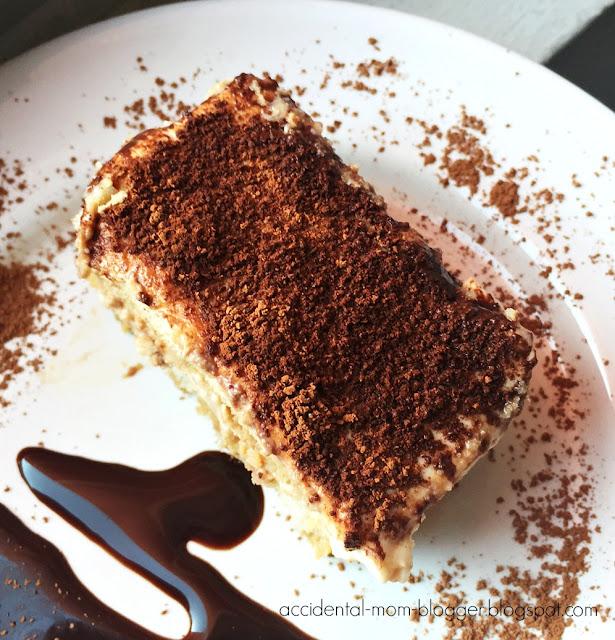 recipe sharing, I have halved Nigella's original Irish Cream Tiramisu ...