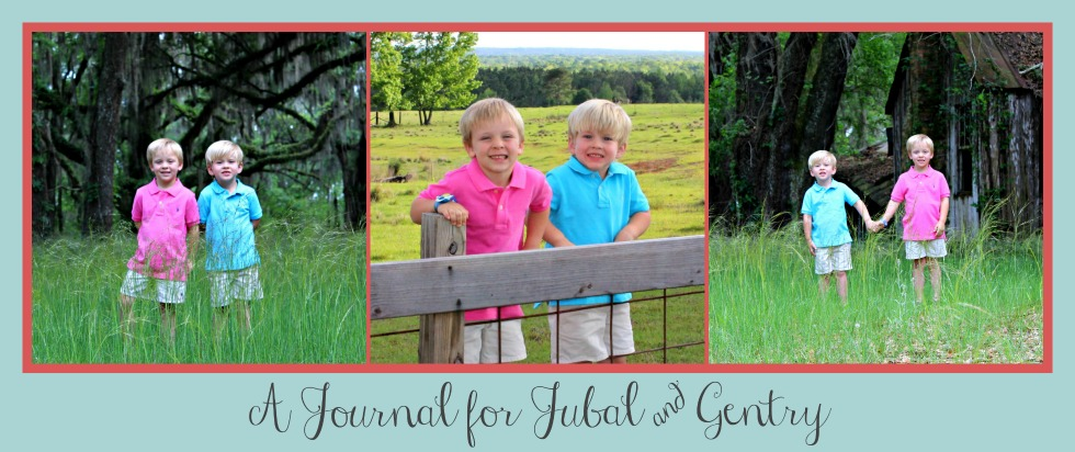 A Journal for Jubal & Gentry